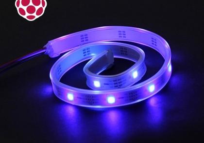 کنترل روشنایی LED RGB و ربات با PWM و با رزبری پای