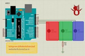 راه اندازی LED RGB با آردوینو (4)