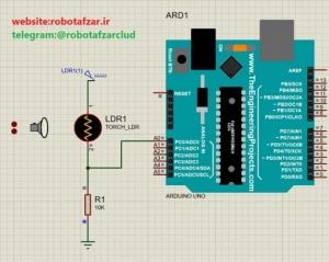 پروژه راه اندازی LDR با آردوینو (3)