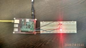 کنترل روشنایی LED RGB و ربات با PWM و با رزبری پای (3)