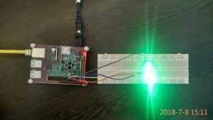 کنترل روشنایی LED RGB و ربات با PWM و با رزبری پای (4)