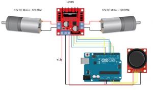 آموزش راه اندازی کنترل LED با جوی استیک توسط آردوینو + پروژه