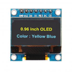 راه اندازی OLED 7 PIN باآردوینو